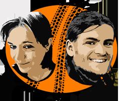 Logo: Marvin und Anja's Motorradabenteuer