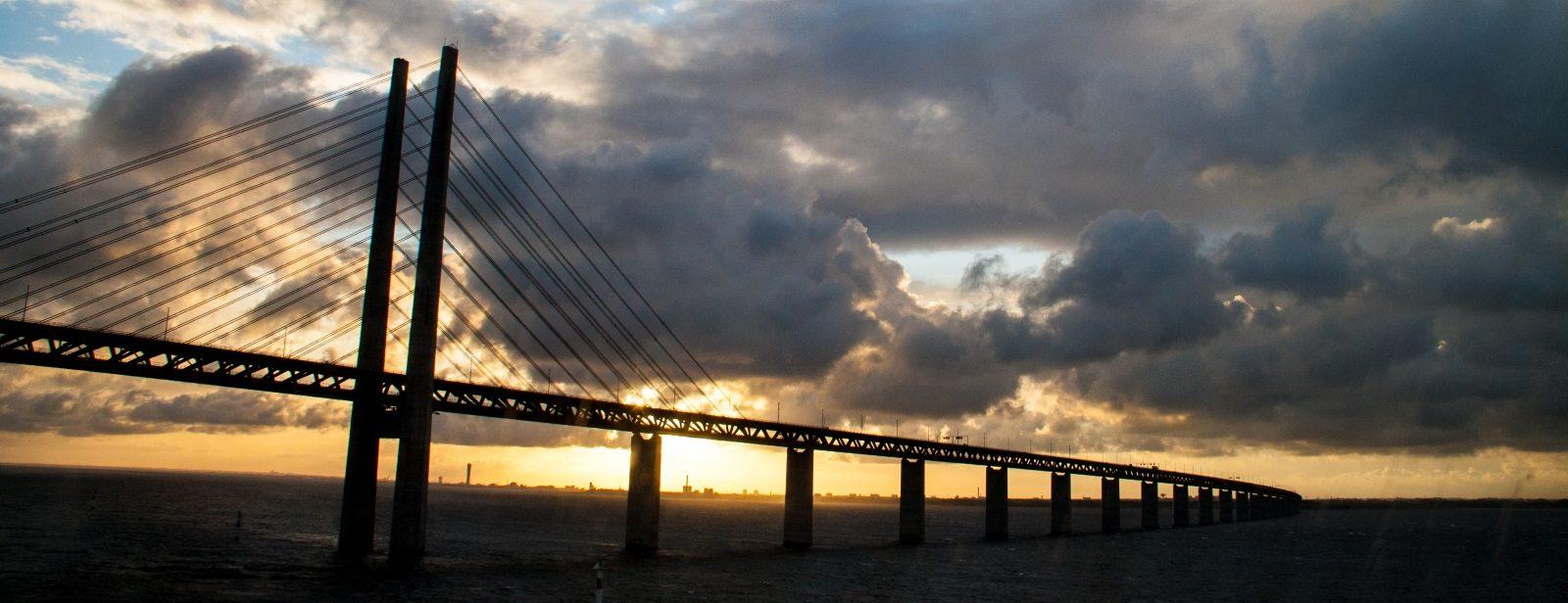Bei so schöner Lichtstimmung haben wir die Brücke nicht erlebt.
