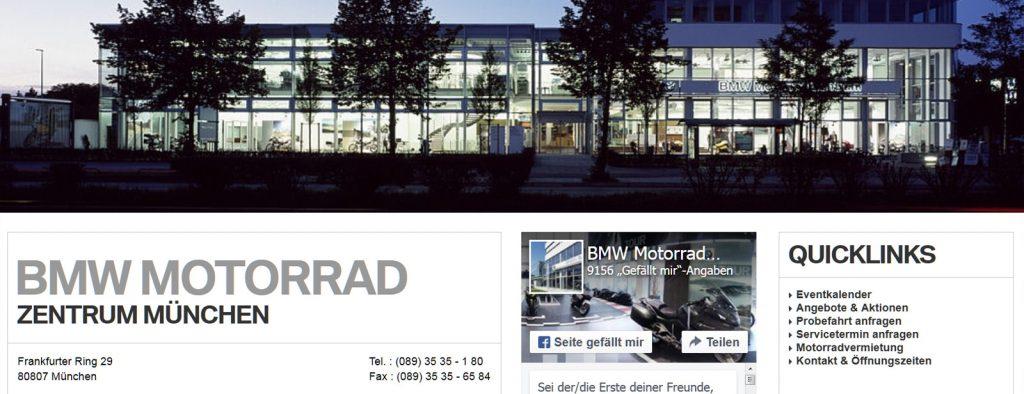 Brief von BMW – Rückruf für die G 650 GS, Baujahr 2014