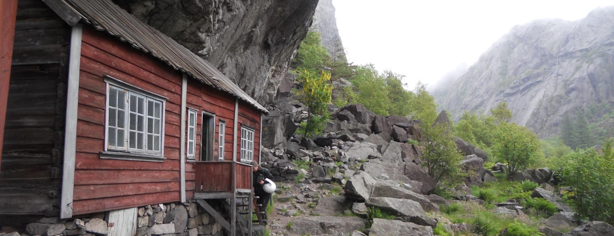 Die Häuser in Helleren machen mächtig Eindruck.