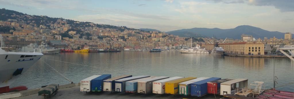 Domaso bis Genua – Heute wird es langweilig … oder doch nicht?
