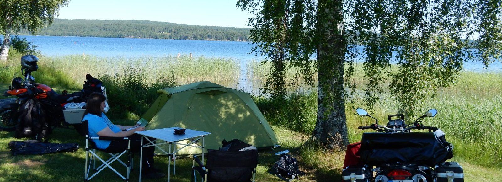Unser Campingplatz nahe Eda in Schweden.