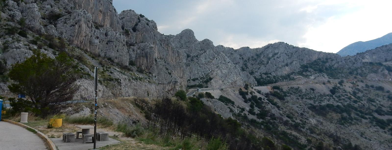 Von Trogir nach Dubrovnik - Kurvige Küste