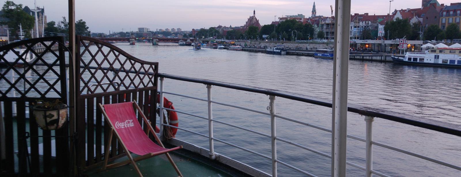 Weiter nach Stettin - Kapitäne für eine Nacht